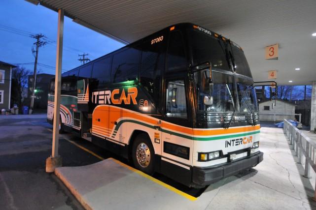 Un autobus Intercar... (Archives Le Progrès)