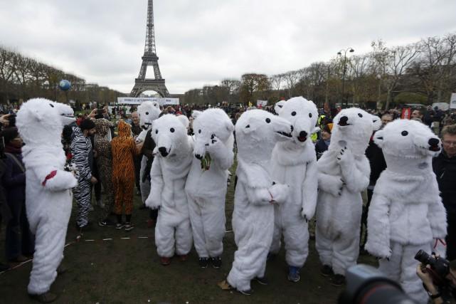 Maintenant que l'accord sur le climat a été... (AP, Matt Dunham)