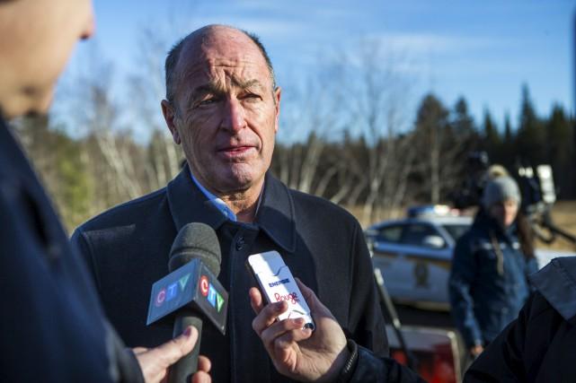 Le maire de Trois-Rivières, Yves Lévesque.... (Olivier Croteau)