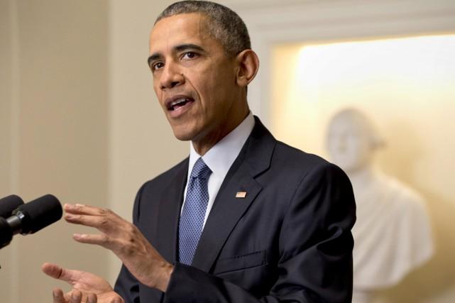 Résumant un sentiment général, le président américain Barack... (Associated Press)