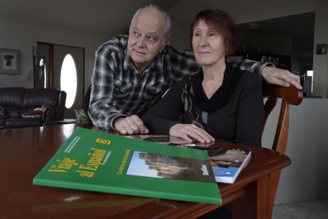Raymond Corriveau et Françoise Bourdages appréciaient leur cours... (Sylvain Mayer)