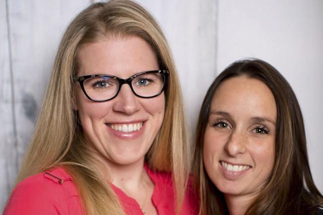 Les ergothérapeutes Mélissa Grenier et Marie-Ève Caron ont... (Fournie)