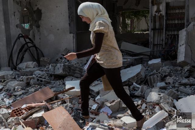 La ville de Raqqa, en Syrie, une parmi... (Photo: La Presse)