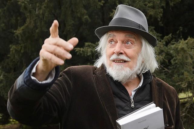 Michael Chaplin, un des fils du grand cinéaste... (AFP, Fabrice Coffrini)