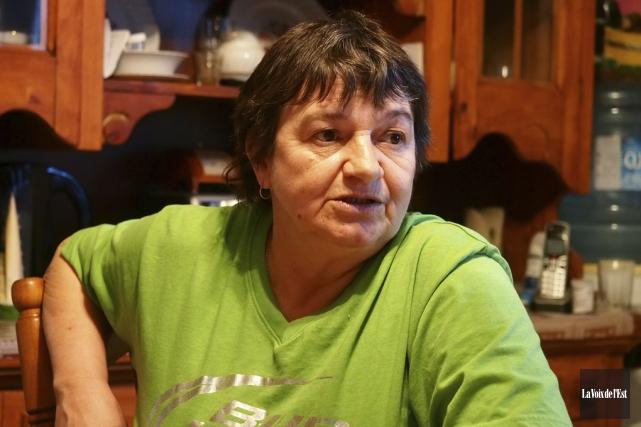Depuis le 23 janvier 2005, Françoise Algier est... (Archives La Voix de l'Est)
