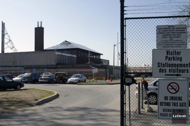 Le centre de détention Ottawa-Carleton... (Patrick Woodbury, Archives LeDroit)