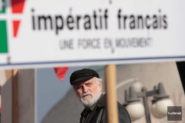 Le président d'Impératif français, Jean-Paul Perreault... (Simon Séguin-Bertrand, Archives LeDroit)