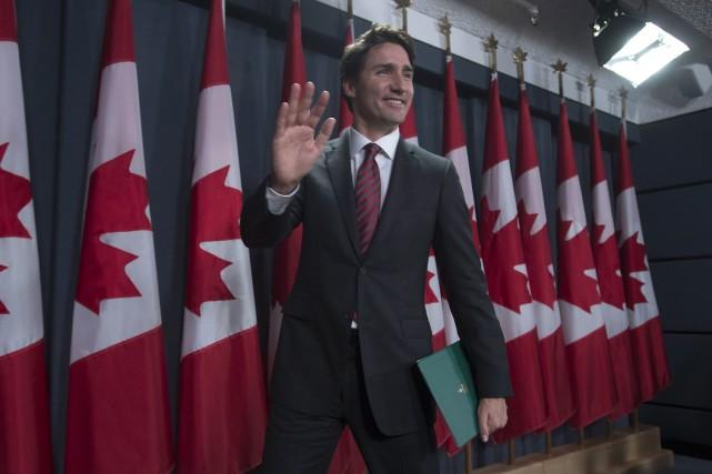 Le gouvernement Trudeau a commencé à parler de... (PC)