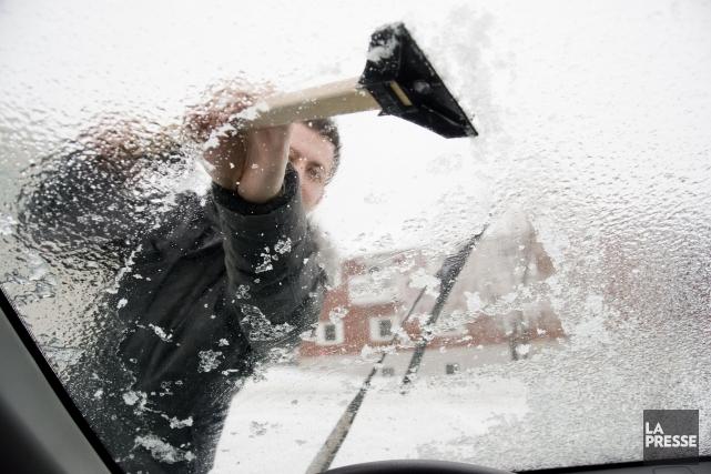 Un mélange de précipitations touchera le Québec et les Maritimes en début de... (Photo d'archives)