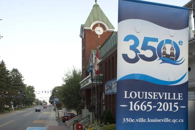 Les fêtes du 350e anniversaire de Louiseville prendront... (Stéphane Lessard)