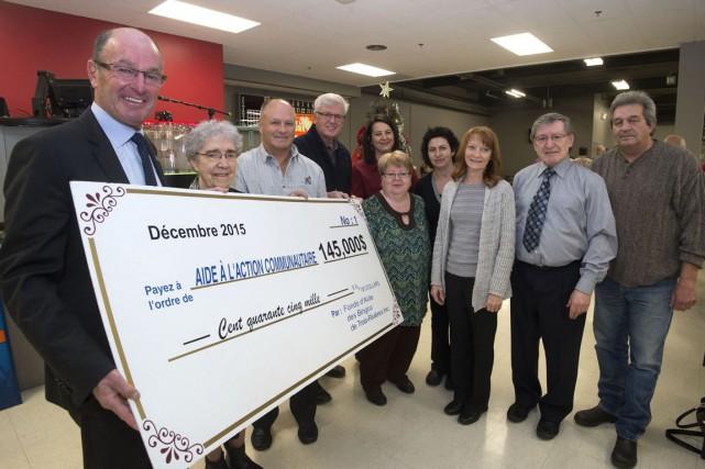 Encore cette année, le Fonds d'aide des bingos de Trois-Rivières a fait des...