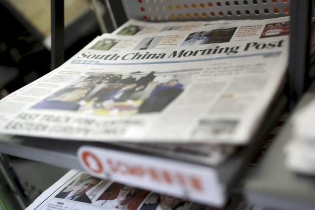 Fondé en 1903, le South China Morning Postest... (Photo Reuters)