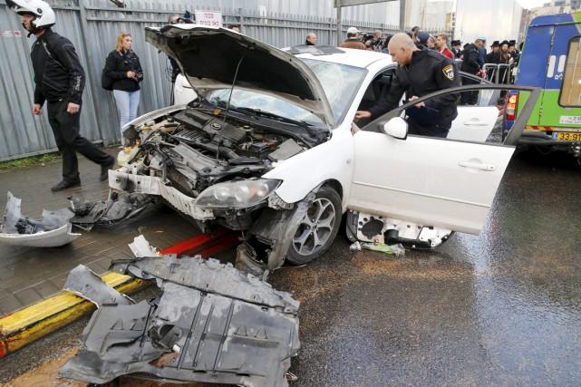 L'auteur de l'attaque, un Palestinien de Jérusalem-Est âgé... (PHOTO AMMAR AWAD, REUTERS)