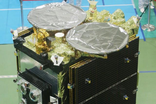 La sonde Hayabusa-2... (PHOTO AGENCE FRANCE-PRESSE)