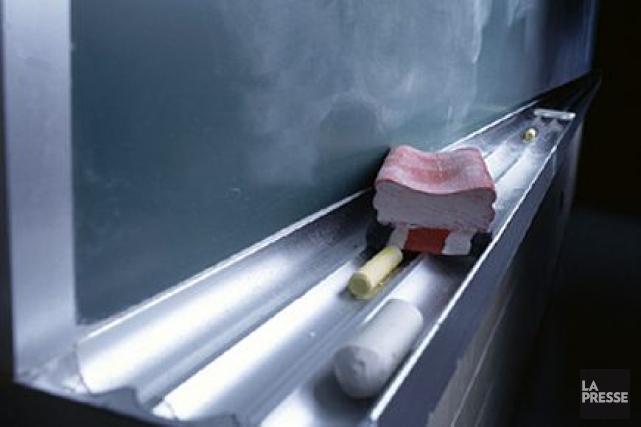 Les enseignants sortent indemnes de leur négociation avec le gouvernement, et... (Photothèque La Presse)