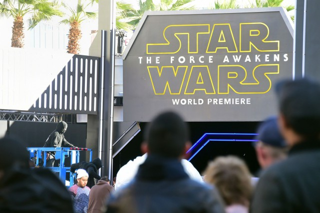Le rideau se lève enfin sur Episode VII: The Force Awakens,... (PHOTO AFP)