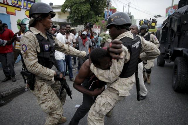 «Quasiment chaque jour, il y a des manifestations... (PHOTO AFP)