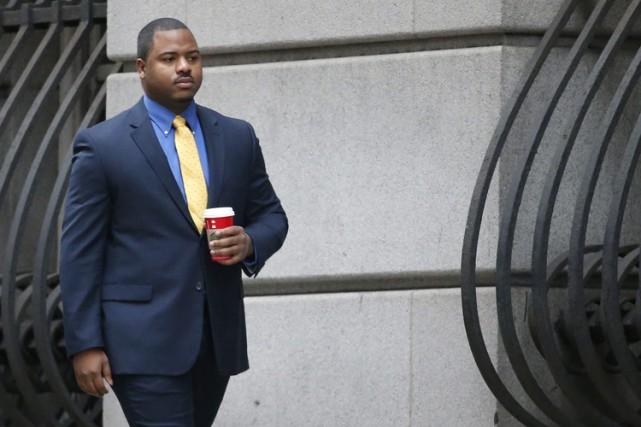 William Porter plaide non coupable des chefs d'accusation... (PHOTO AP)