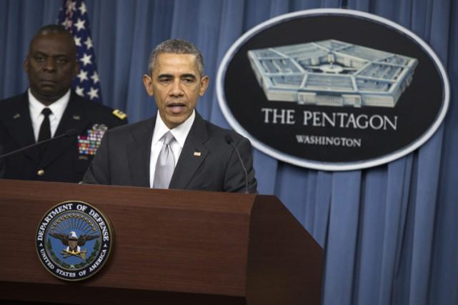 Le président Obama s'est adressé aux Américains depuis... (PHOTO AP)