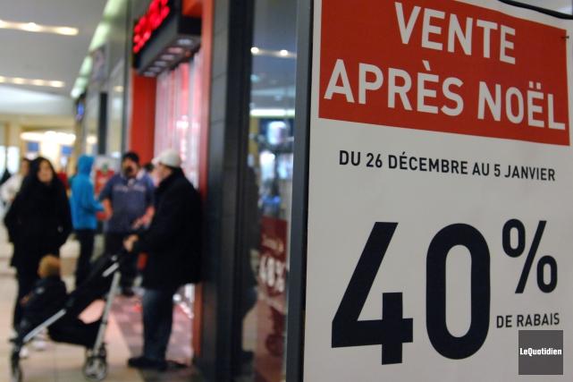 OPINION / Nous en sommes tous à mi-course dans l'achat des cadeaux de Noël et,... (Archives Le Quotidien, Michel Tremblay)