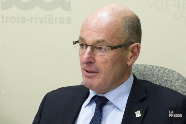 Le maire de Trois-Rivières, Yves Lévesque.... (Stéphane Lessard)
