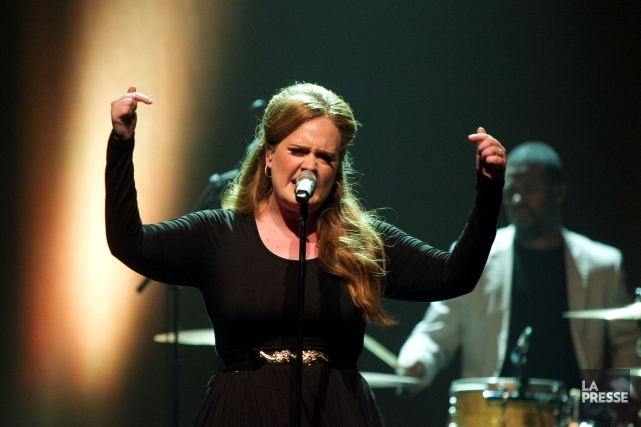 La chanteuse Adele offrira deux spectacles à Montréal... (Archives, La Presse)