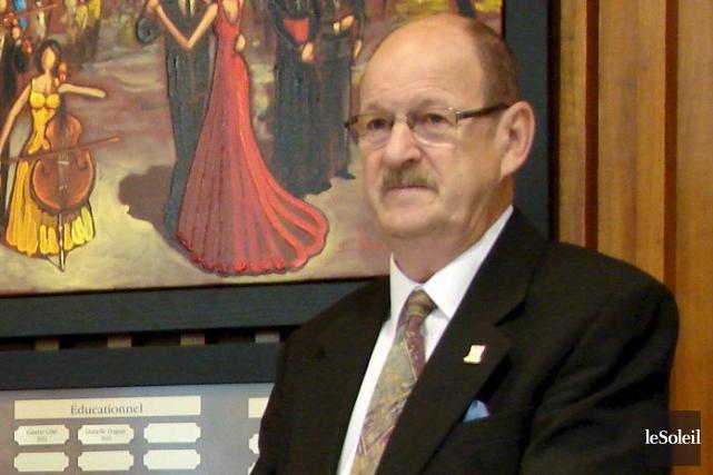 Le maire de Baie-Comeau, Claude Martel, a souligné... (Photothèque Le Soleil)