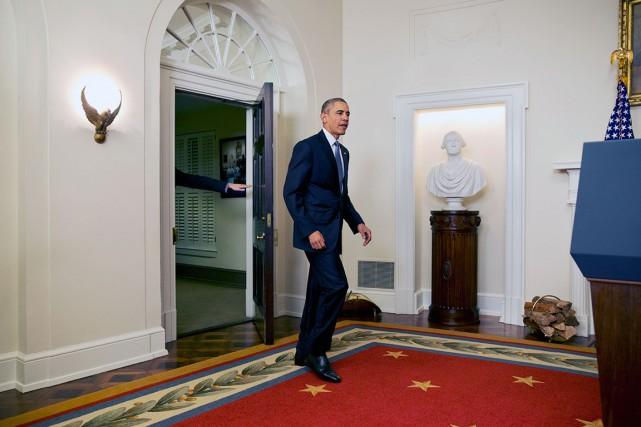 Barack Obama souhaite se rendre à Cuba avant... (AP, Jacquelyn Martin)