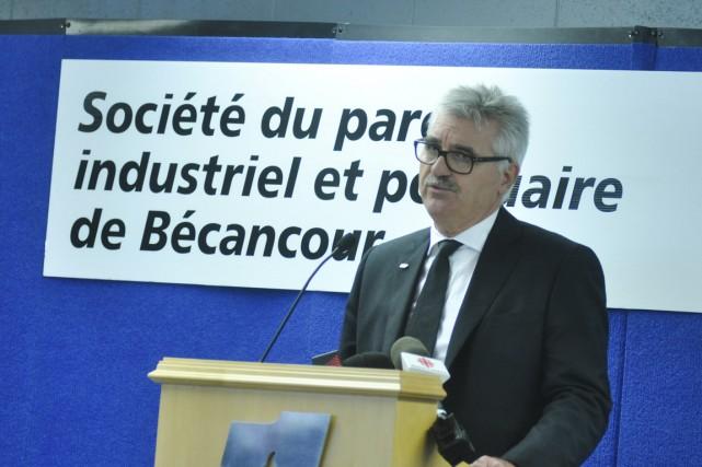 Le chef de la direction d'IFFCO Canada, Claude... (Émilie O'Connor)