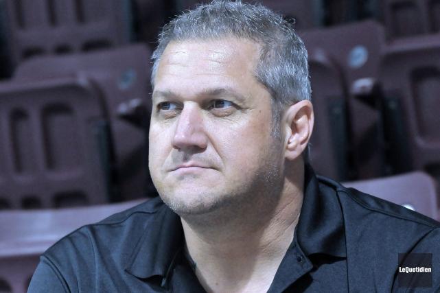 Bob Desjardins a été nommé entraîneur des River... (Archives Le Quotidien, Rocket Lavoie)