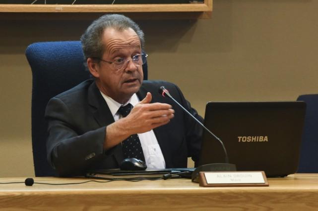 Le maire de Nicolet a présenté, lundi soir,... (François Gervais)