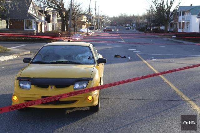 L'accident survenu le 30 décembre 2014 avait envoyé... (photo archives La Voix de l'Est)