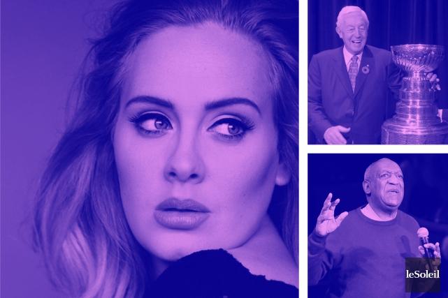 Adele en tournée nord-américaine... mais pas à Québec (Infographie Le Soleil)