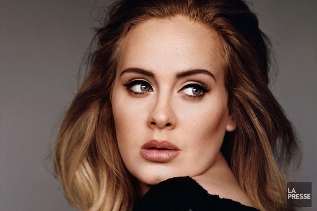 Le dernier opus de la chanteuse britannique Adele... (PHOTO ARCHIVES LA PRESSE)