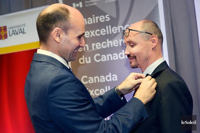 La nouvelle Chaire d'excellence du Canada en neurophotonique... (Le Soleil, Jean-Marie Villeneuve)
