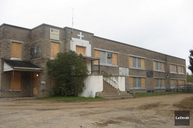 L'ancienne école primaire Notre-Dame-de-la-Garde... (Archives, LeDroit)