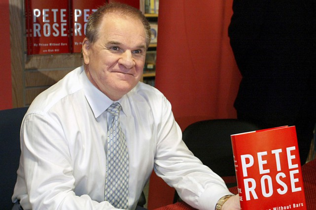Pete Rose en 2004... (AFP, Timothy A. Clary)