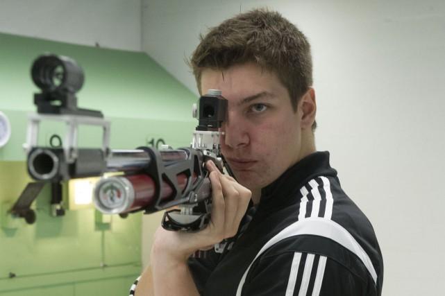 Frédéric Lemoine a remporté l'or au tir à... (Stéphane Lessard)