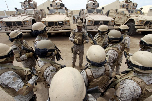 L'Arabie saoudite, qui dirige une coalition arabe contre... (PHOTO REUTERS)