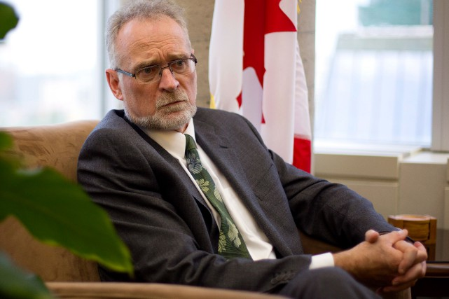 Michael Ferguson, vérificateur général du Canada... (PHOTO FRED CHARTRAND, ARCHIVES LA PRESSE CANADIENNE)