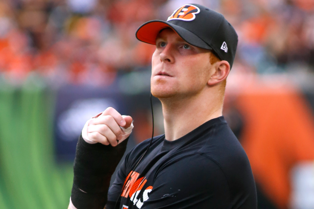 Andy Dalton... (Photo David Kohl, archives USA Today)