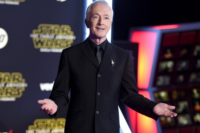 L'acteur britannique Anthony Daniels, qui a endossé pour... (PHOTO AP)