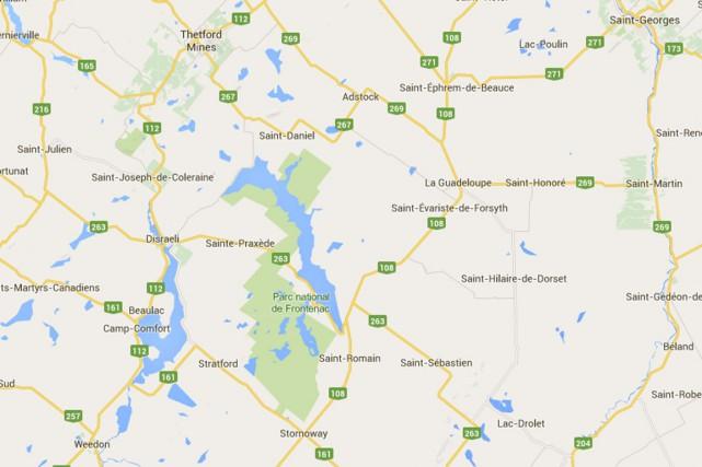 Un homme est mort à l'hôpital quelques heures après avoir été victime d'un... (Capture d'écran Google map)