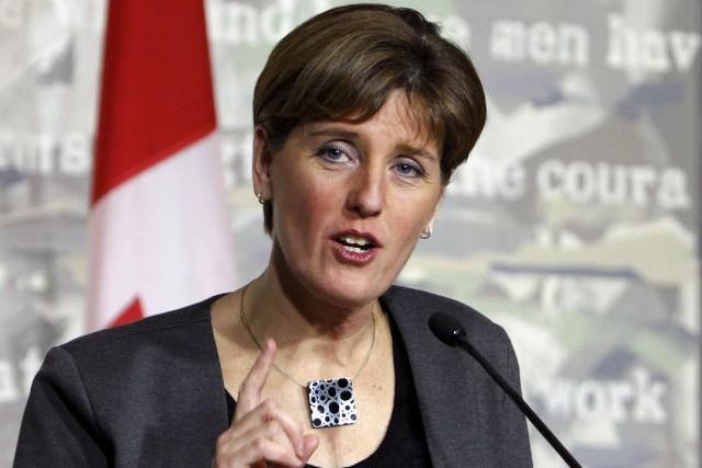 La ministre du Développement international, Marie-Claude Bibeau.... (La Presse Canadienne)