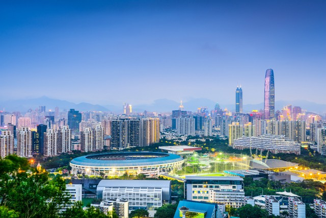 La ville de Shenzhen, haut lieu de la... (Photo Thinkstock)