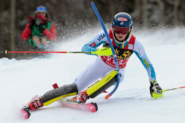 Mikaela Shiffrin... (Photo Nathan Bilow, archives AP)