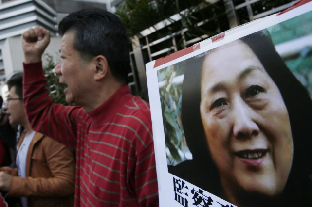 La Chine demeure le pays qui emprisonne le... (PHOTO KIN CHEUNG, ASSOCIATED PRESS)