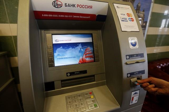 La banque Rossiya fait partie des premiers établissements... (Photo archives Reuters)