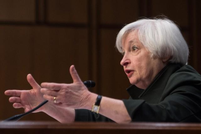 Le Comité de politique monétaire de la Fed... (PHOTO ARCHIVES AFP)