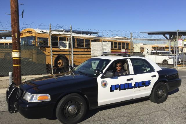 Toutes les écoles publiques de Los Angeles ont... (Associated Press, Damian Dovarganes)